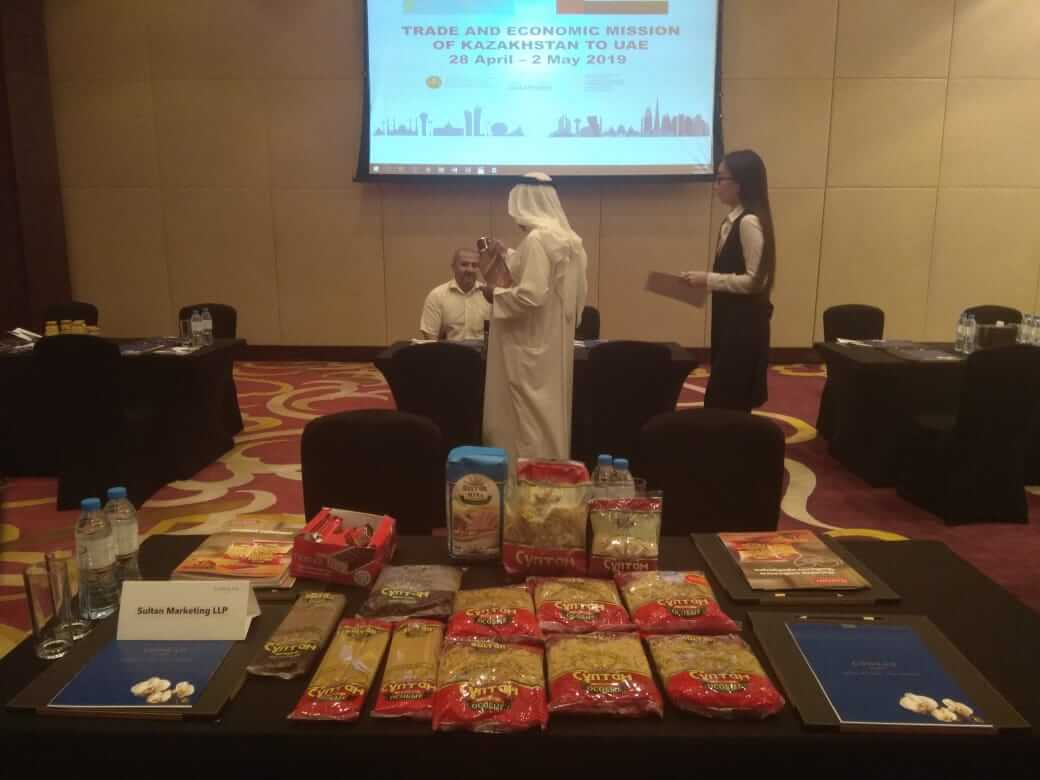 Trade economic mission in UAE